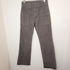 Diesel Style Lab Cargo Straight Fit Pants Gray 29
